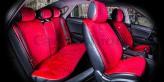 CarFashion Накидки универсальные Premium CITY PLUS (красный/красный)