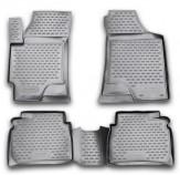 Резиновые глубокие коврики Hyundai Elantra XD 2003-2011