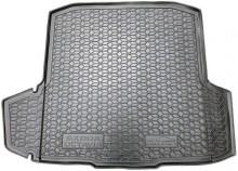 AvtoGumm Резиновый коврик в багажник Skoda Octavia A7 2013- Универсал (два боковых уха)