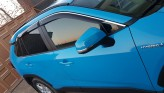 Cobra Tuning Ветровики с хром молдингом Toyota Rav4 2019-