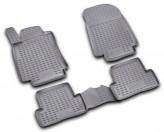 NovLine-Element Глубокие резиновые коврики в салон Renault Clio 2005-2013 HB WAGON