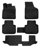 Резиновые глубокие коврики VW Atlas Teramont (7 мест)