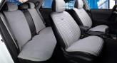 CarFashion Накидки универсальные Premium Monaco PLUS (серый/серый)