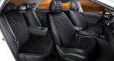 CarFashion Накидки универсальные Premium Monaco PLUS (чёрный/чёрный)