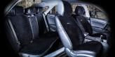 CarFashion Накидки универсальные Premium CITY PLUS (черный/черный)