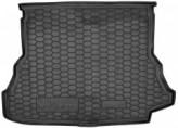 AvtoGumm Резиновый коврик в багажник Renault Laguna II Liftback 2000-2007 (лифтбек)