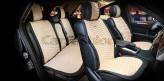 Накидки универсальные Premium Capri PLUS (Черный/бежевый)