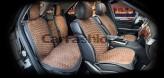 Накидки универсальные Premium Capri PLUS (черный/коричневый)