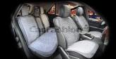 Накидки универсальные Premium Capri PLUS (серый/св.серый)