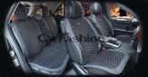 Накидки универсальные Premium Capri PLUS (черный/черный/синий)