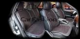 Накидки универсальные Premium Capri PLUS (черный/красный)