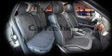 CarFashion Накидки универсальные Premium Capri PLUS (черный/т.серый)