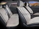 CarFashion Накидки универсальные Premium California PLUS (бежевый/бежевый)