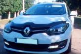 Дефлектор капота Renault Megane 2013-2015