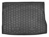 AvtoGumm Резиновый коврик в багажник KIA Cee'd 2006-2012 НВ