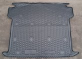 Резиновый коврик в багажник Fiat Doblo Maxi 2010- (5-7 мест)