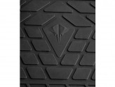 Резиновые коврики Jeep Wrangler 2014-2018 (5-ти дверный)