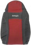 EMC Чехлы на сиденья Smart ForTwo 1998-2007 (красный)
