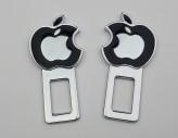 Заглушки ремня безопасности Apple (чёрные)