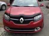 Дефлектор капота Renault Sandero 2013-