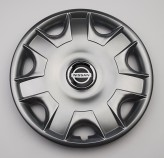SKS (с эмблемой) Колпаки Nissan 301 R15 (Комплект 4 шт.)