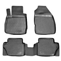 L.Locker Глубокие резиновые коврики в салон Ford Fiesta 2008-