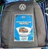 Prestige LUX Чехлы на сиденья Volkswagen Touran 2006-2010 (без столиков)