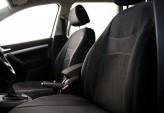 DeLux Чехлы на сиденья Renault Logan седан 2013- (цельная спинка)