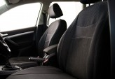 DeLux Чехлы на сиденья Renault Logan 2013- цельная (Россия)