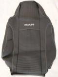 DeLux Чехлы на сиденья MAN TGA TGM (1+1) 2002-2007 (высокая спинка)