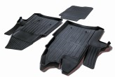 Глубокие резиновые коврики Ford Tranzit 2013-