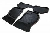Глубокие резиновые коврики Hyundai Accent 2001-2006 (06-10 ТАГАЗ-я сборка)