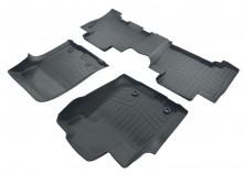 Коврики резиновые 3D LUX для Toyota Land Cruiser Prado 150 Lexus GX 460