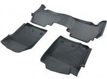 Коврики резиновые 3D LUX для Toyota Land Cruiser 200 LX570 (FL 2012-)