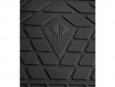 Резиновые коврики Volkswagen Touareg 2010-2018 (с пластиковыми клипсами) (передние)