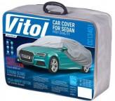 Vitol Тент автомобильный XL с подкладкой PEVA/PP Cotton/533х178х119