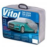 Vitol Тент автомобильный L с подкладкой PEVA/PP Cotton/482х178х119