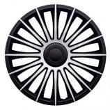 J-TEC (Jacky) Колпаки Austin Silver-Black R13 (Комплект 4 шт.)