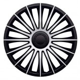 J-TEC (Jacky) Колпаки Austin Silver-Black R16 (Комплект 4 шт.)