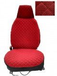 Накидки на сидения Красные Pilot (передние)