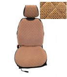 Накидки на сидения Бежевые Standart (передние)