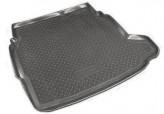 Unidec Резиновый коврик в багажник Cadillac BLS sedan 2006-2009
