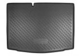 Unidec Резиновый коврик в багажник Skoda Fabia HB 2015-