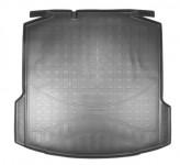 Unidec Резиновый коврик в багажник Skoda Rapid 2012-2020 (без ушей)