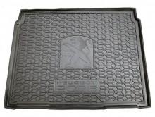 AvtoGumm Резиновый коврик в багажник Peugeot 2008 2019- (нижний)