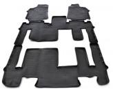 Резиновые коврики Hyundai H1 2007- (3 ряд)