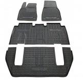 AvtoGumm Резиновые коврики Tesla Model X (6-7 мест)