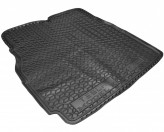 AvtoGumm Резиновый коврик в багажник TESLA Model X задний (сложенный 3-й ряд)