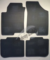 Резиновые коврики KIA Cerato 2005-2009 Gumarny Zubri