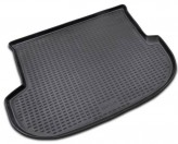 NovLine-Element Резиновый коврик в багажник Hyundai Santa Fe (II) 2006-2012 5 мест